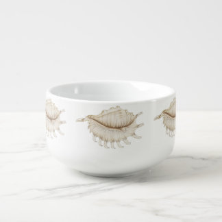 Spider Conch Shell in Pencil Soup Mug/Bowl Soup Mug
