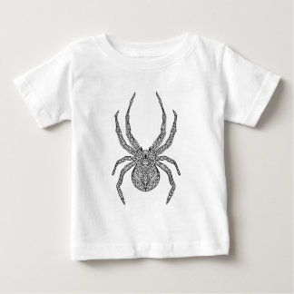 Spider Doodle Baby T-Shirt