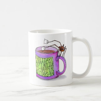 Spider Dunking Marshmallows mug