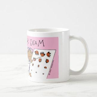 Spider eye exam coffee mug