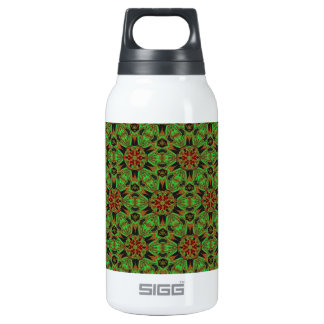 Spider Fangs Lime Green Thermos Bottle