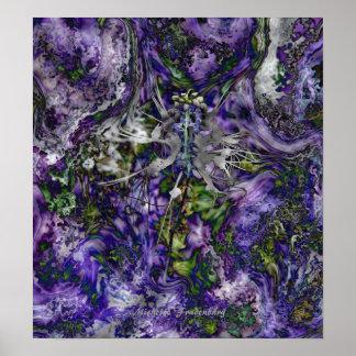 Spider Flower Poster