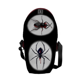 Spider & Fly Messenger Bags
