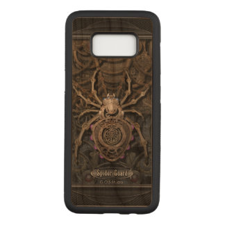 Spider Guard Steampunk. Carved Samsung Galaxy S8 Case