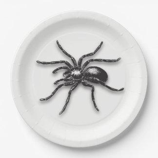 Spider - Halloween Paper Plate