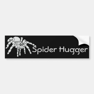 Spider Hugger Bumper Sticker