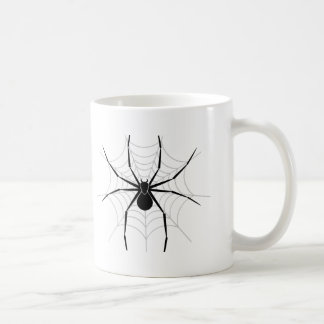 Spider in a Web Coffee Mugs