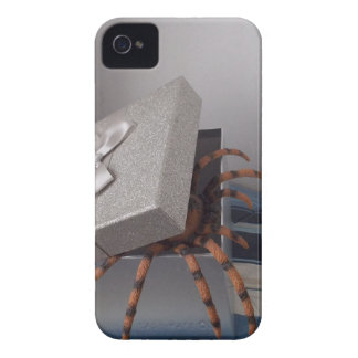 Spider in gift box iPhone 4 cases