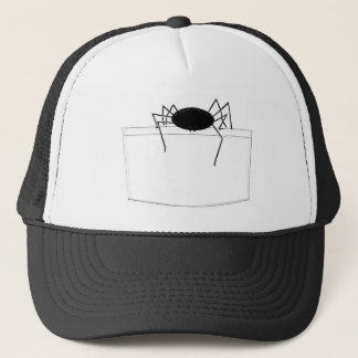 Spider in Pocket Trucker Hat