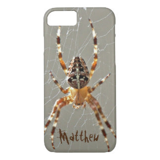 Spider in Web iPhone 8/7 Case
