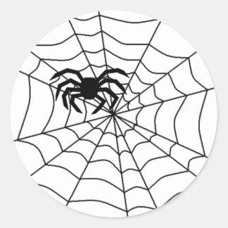 spider in web stickers