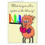Spider joke Birthday