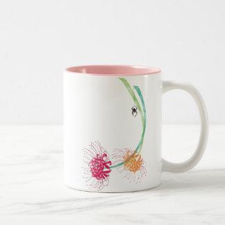 Spider Lily Two-Tone Mug