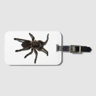 Spider lovers luggage tag