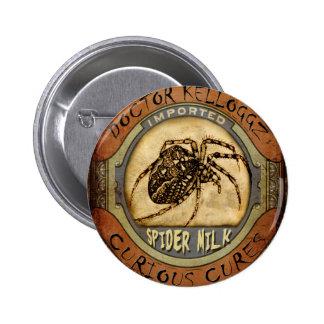 Spider Milk 6 Cm Round Badge
