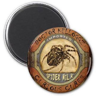 Spider Milk 6 Cm Round Magnet
