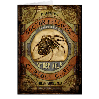 Spider Milk Card