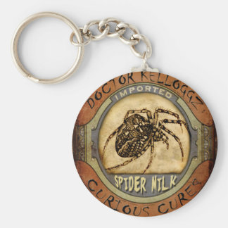 Spider Milk Key Ring