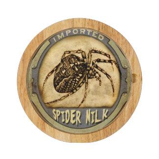 Spider Milk Round Cheeseboard