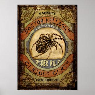 Spider Milk Posters