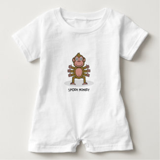 Spider Monkey Baby Bodysuit