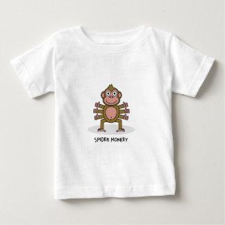 Spider Monkey Baby T-Shirt