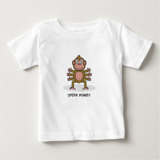 Spider Monkey Baby T-Shirt