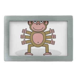 Spider Monkey Belt Buckle