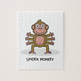 Spider Monkey Jigsaw Puzzle