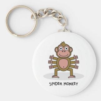 Spider Monkey Key Ring