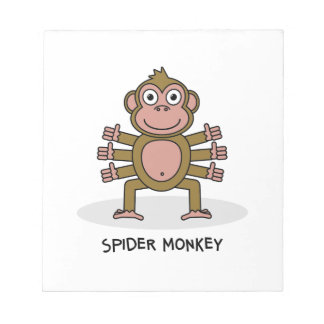 Spider Monkey Notepad