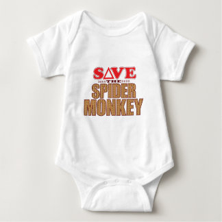 Spider Monkey Save Baby Bodysuit