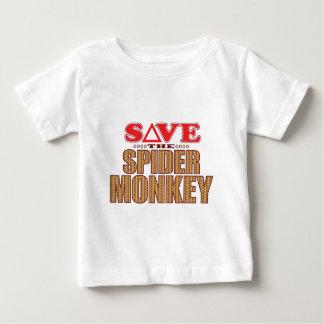Spider Monkey Save Baby T-Shirt