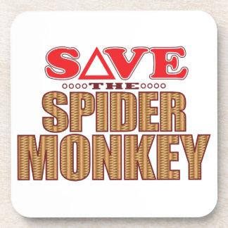 Spider Monkey Save Coaster