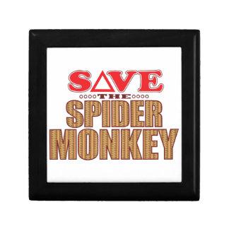 Spider Monkey Save Gift Box