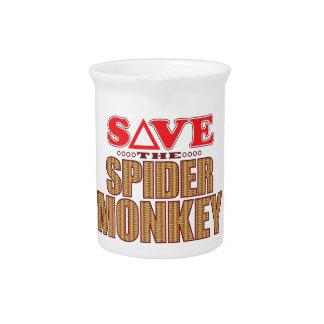 Spider Monkey Save Pitcher