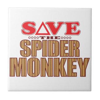Spider Monkey Save Tile