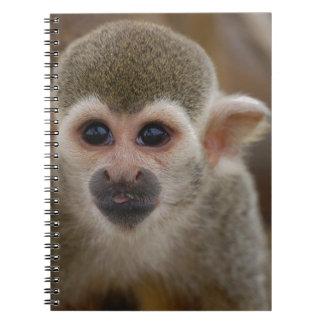Spider Monkey Spiral Notebook