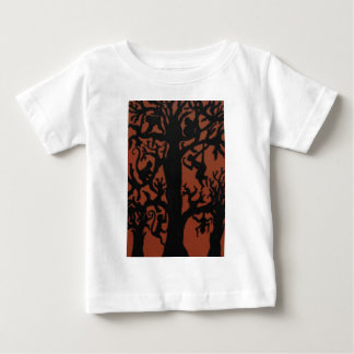 Spider monkey tree baby T-Shirt