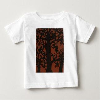 spider monkey tree baby T-Shirt