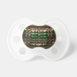 Spider mosaic baby pacifier