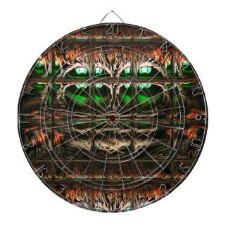 Spider mosaic dartboard