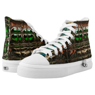 Spider mosaic high tops