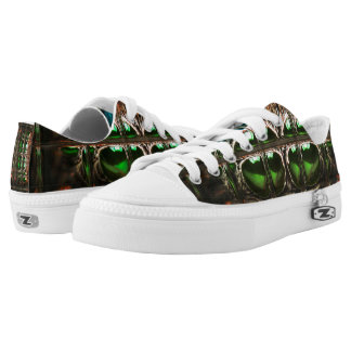 Spider mosaic low tops