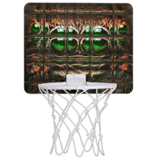 Spider mosaic mini basketball hoop