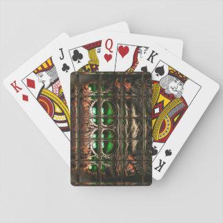 Spider mosaic poker deck