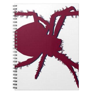 Spider Notebook