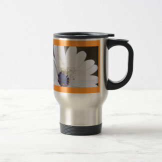 Spider on African Daisy Travel Mug