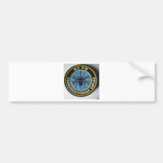 spider patch.russian secret service bumper sticker