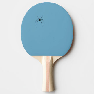 Spider Ping Pong Paddle, Red Rubber Back Ping Pong Paddle